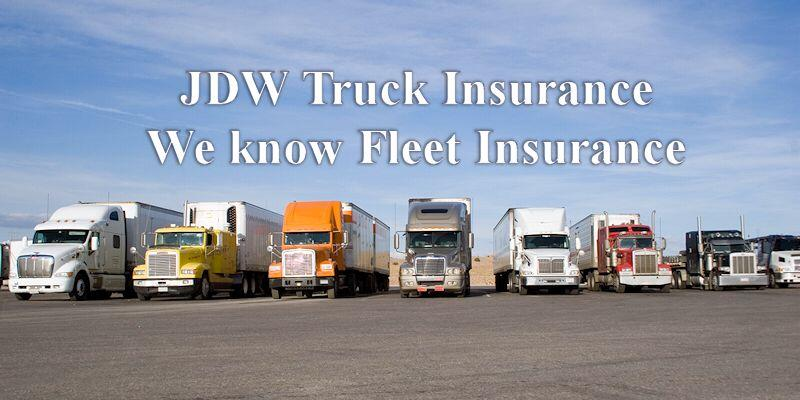 Fleet Insurance – Commercial Truck Insurance