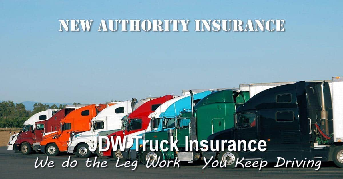 New Authority Truck Insurance – New Venture Truck Insurance