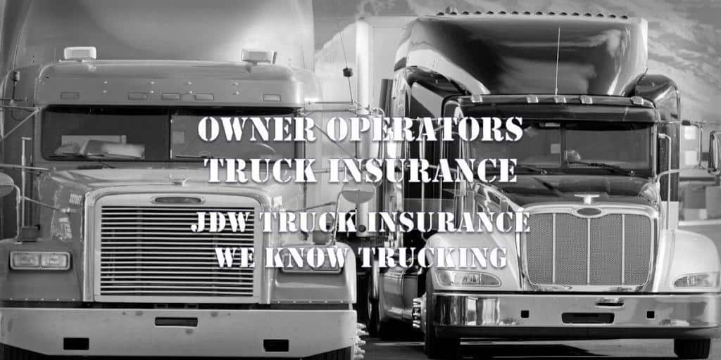 owner operators truck insurance quotes online
